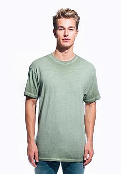 Men's Oil Wash T-Shirt