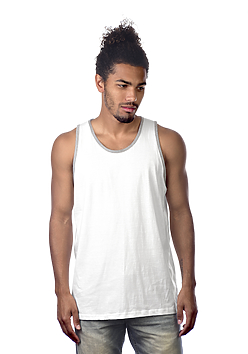 Premium Tank Top, Heather Trim