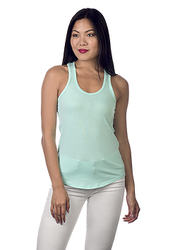 Racer-Back Scallop Bottom Tank